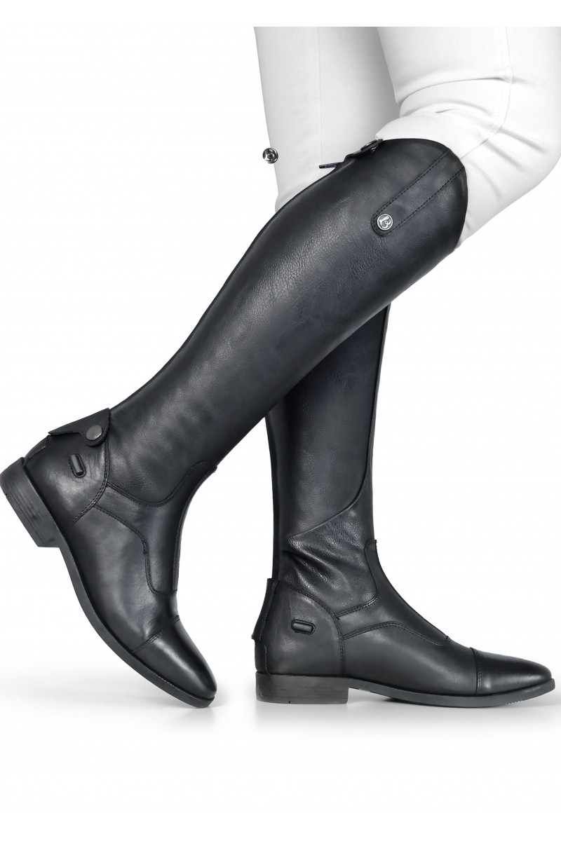 Black riding boots. | Mens leather